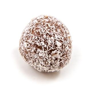 Tartufino al cocco e cioccolato