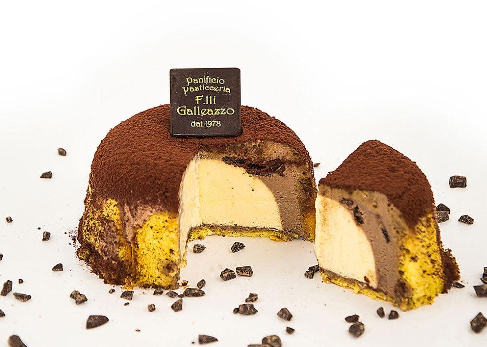 Zuccotto vaniglia e cioccolato